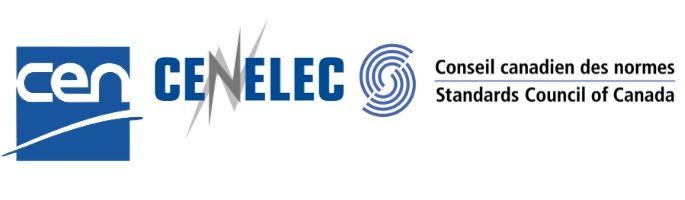 Logo de CEN, logo de CENELEC, logo du CCN