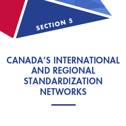 Section 5: Canada's International and Regional Standardization Networks