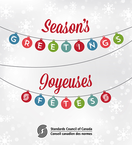 Seasons greetings from the standards council of canada standards seasons greetings from the staff at the standards council of canada m4hsunfo