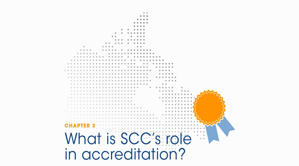 Chapter 3 - What is SCC's role in accreditation?