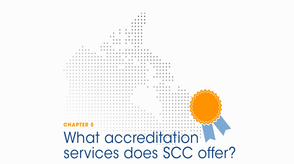 Chapter 5 - What accreditation services does SCC offer?