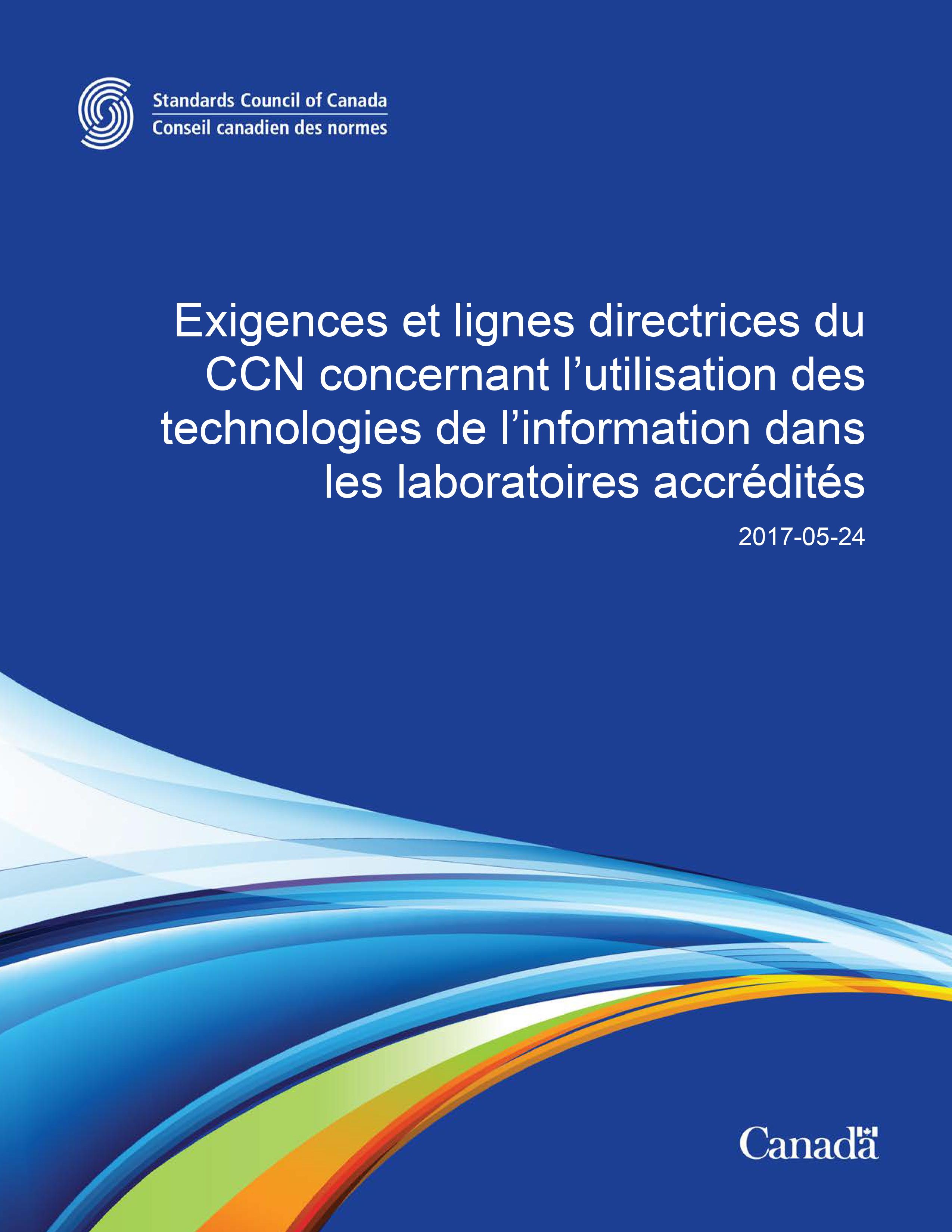 Exigences et lignes directrices technologies de l'information