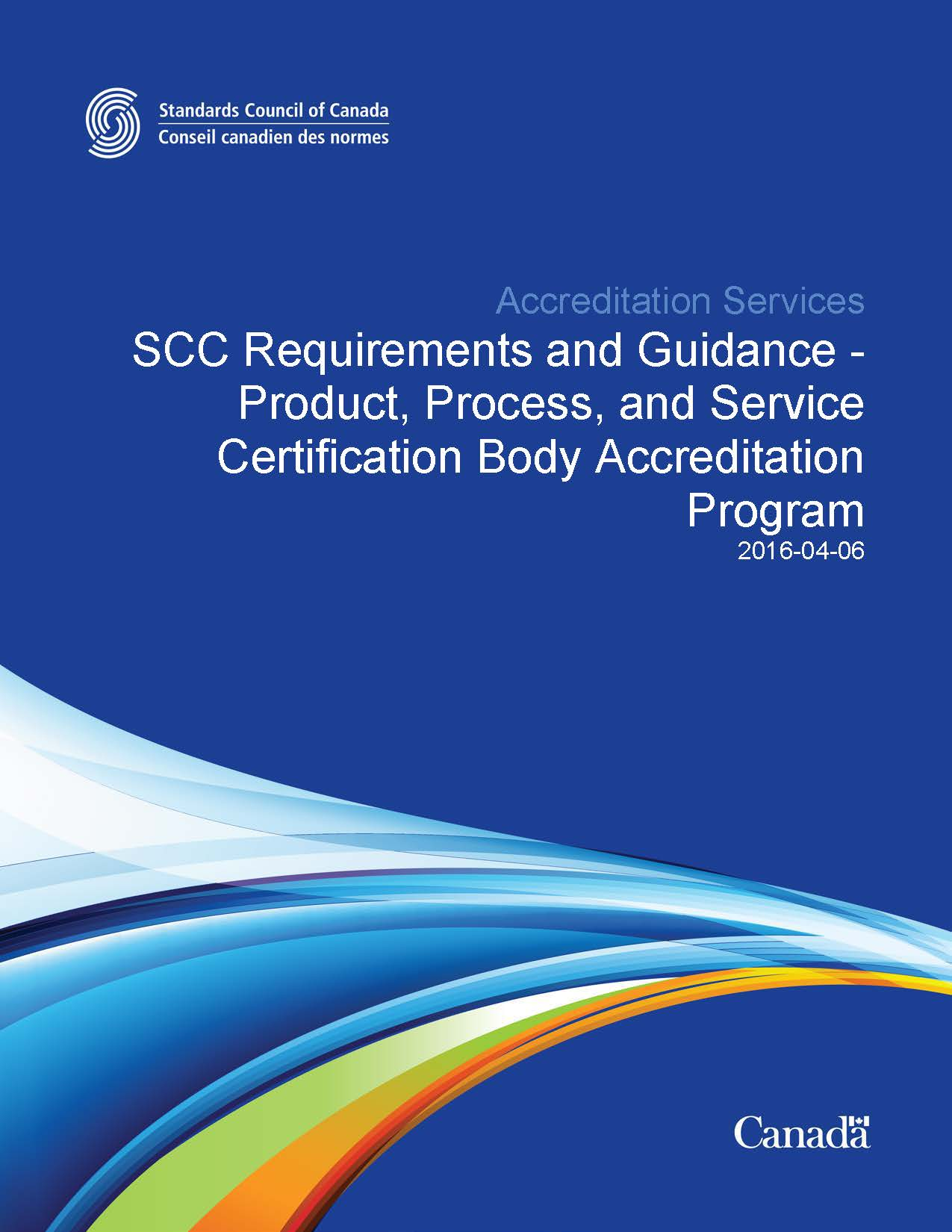 Scc Accreditation Program For Product Process And Service