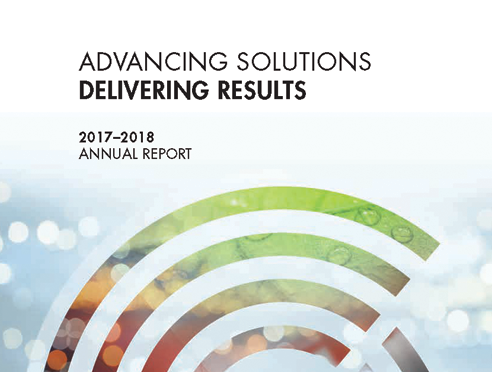 Cover of 2017-18 Annual Report