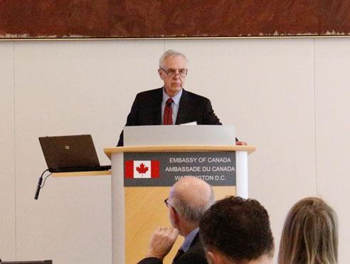 Directeur général du CCN, John Walter