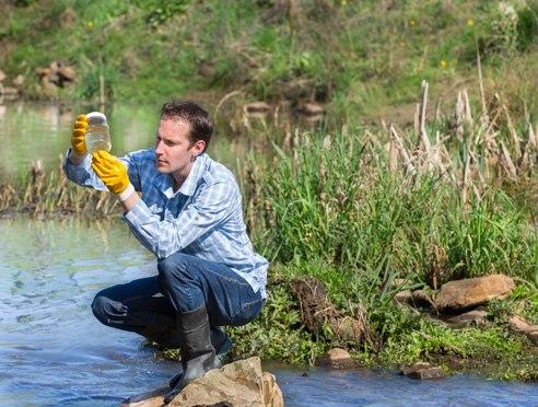 Vérification de la qualité de l'eau
