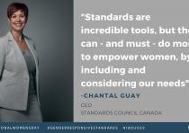 Women in Standards