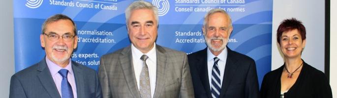 Le CCN nomme Colin Clark au poste de vice-président du CNCA/IEC