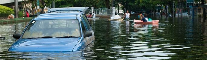 Flooding Car