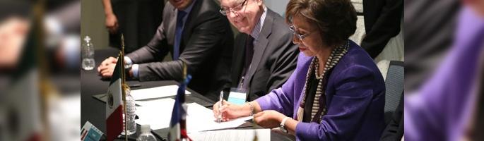 Le Canada et le Mexique signent un accord important