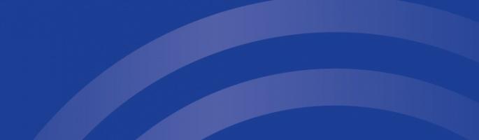blue header