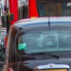 Downtown London traffic