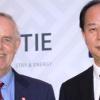 John Walter and Dr. Zhang Xiaogang